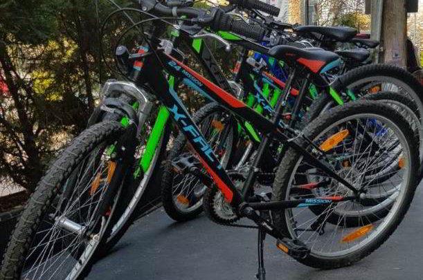 Najam bicikla – Zagreb