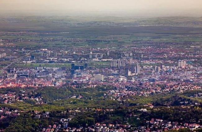 Planinski vrh Sljeme – Zagreb