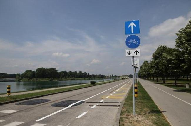 Biciklističke staze Zagreba